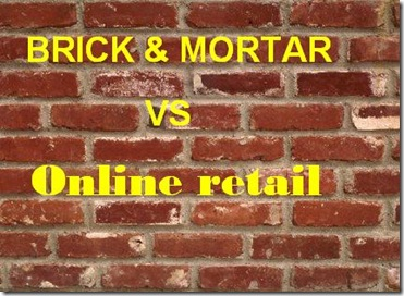Online shopping vs retiailers