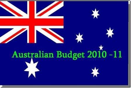 australian-flag  budget 2010 2011