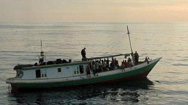 refugee boat australia n