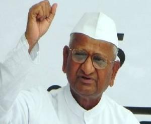 """The """"Anna Hazare"""" India revolution taking place in Delhi"""