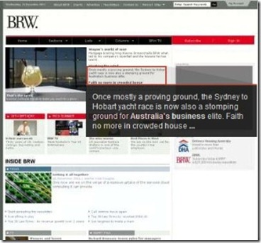 Brw business review weekly australian magazine newspaper
