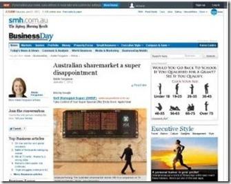 SMH sydney morning herald Business newspaper  australian