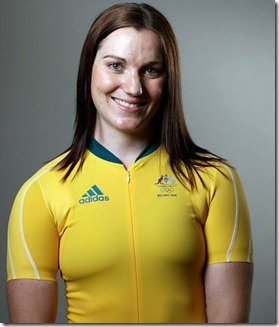 cycling Anna Meares