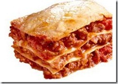 lasagne with horse meat  mousaaka