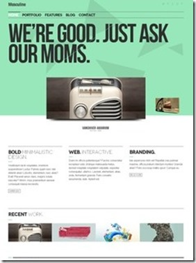 web site theme wordpress