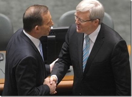kevin rudd defeted by tony abott 2013 elections  result australia