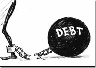 deep in debt in australia us NZ