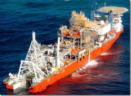 dredger  vessel  for mining diesel unknown