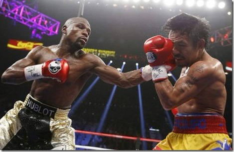 The Floyd Mayweather vs Manny Pacquiao match