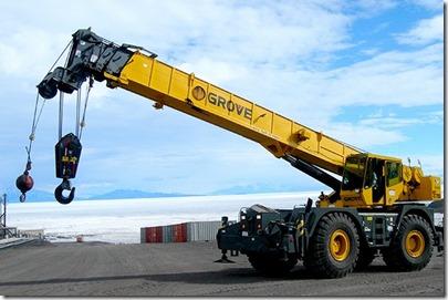 hire for cranes au
