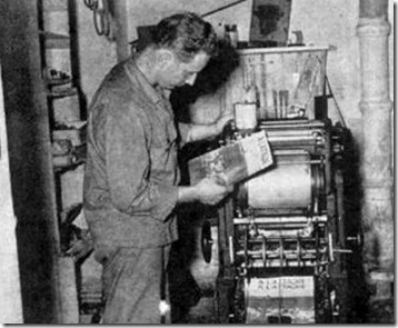 printing in 1850ws