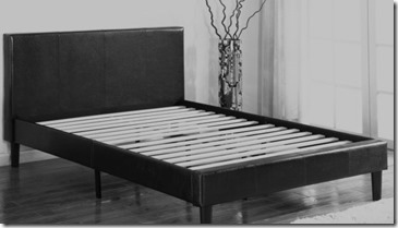 the right bedframe and mattress