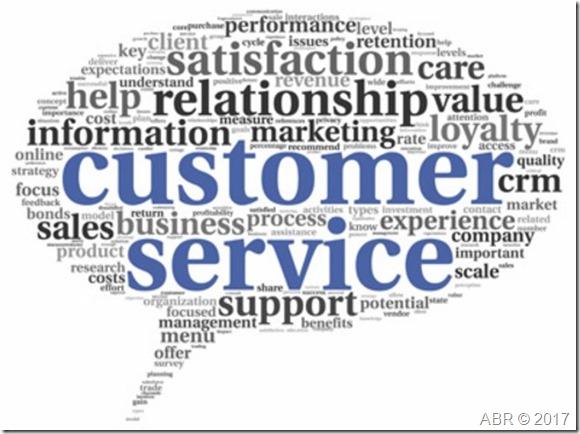 customer service 2017