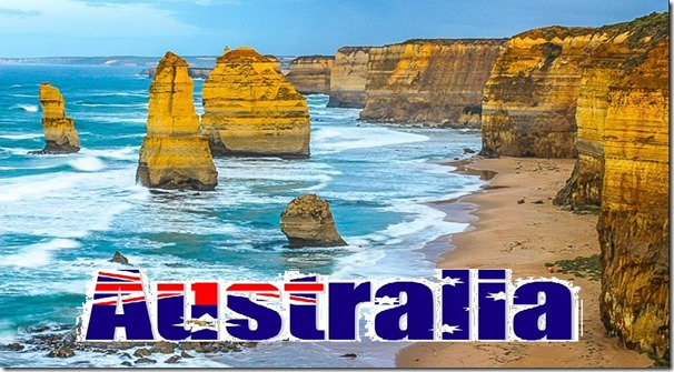australia rocks morph image