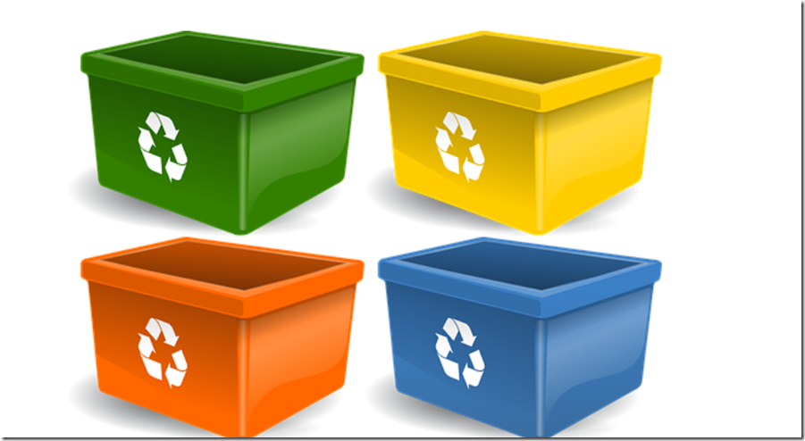 bin and waste disposal