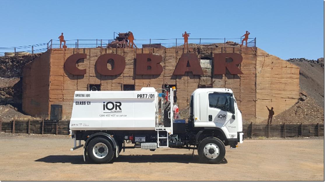 ior truck for oil