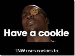 annoying cookie guy next web