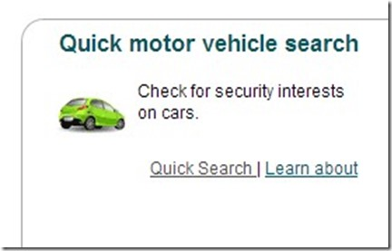 motor vehicle search australia