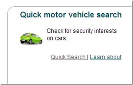 motor vehicle search australia