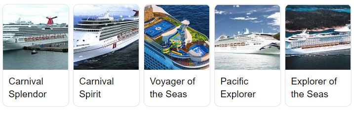 Cruise Ships Australia